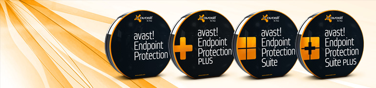 Avast AntiVirus business protection software for networks